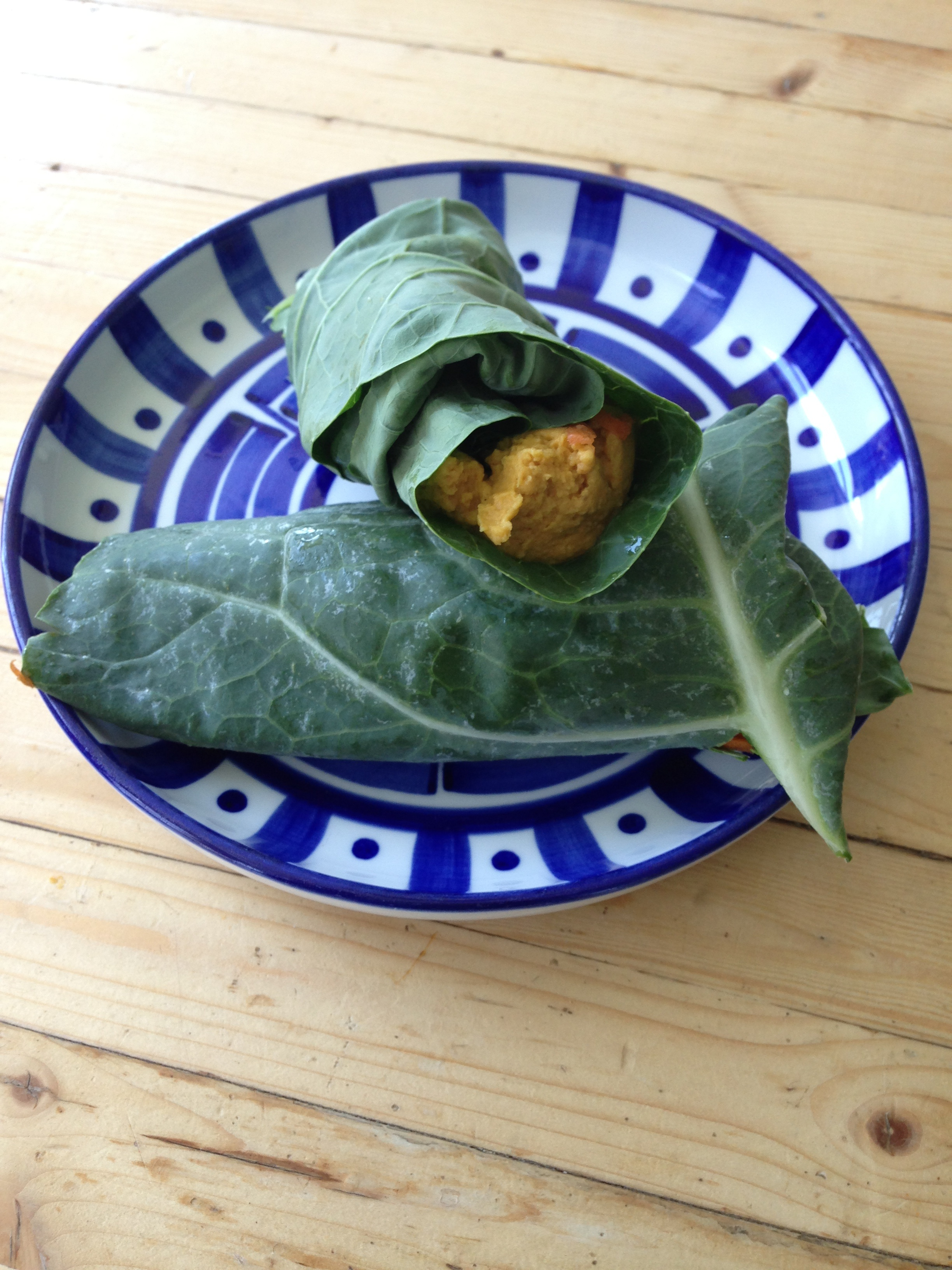 hummus in curried sweet potato hummus1 baked sweet potato with curried ...