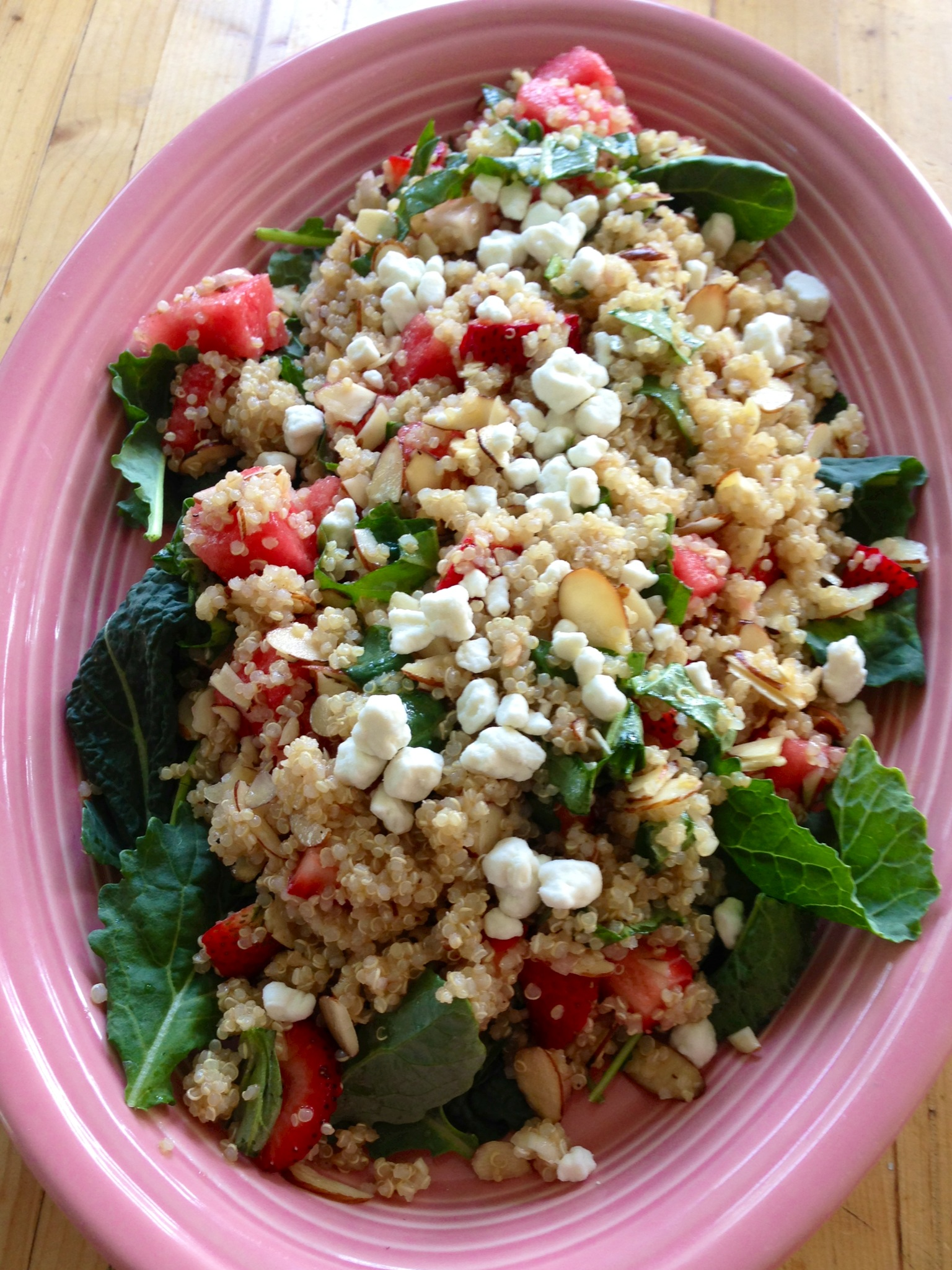 Cape Cod Chopped Salad Sweet Summer Fruit And Basil Salad Beginwithin Nutrition