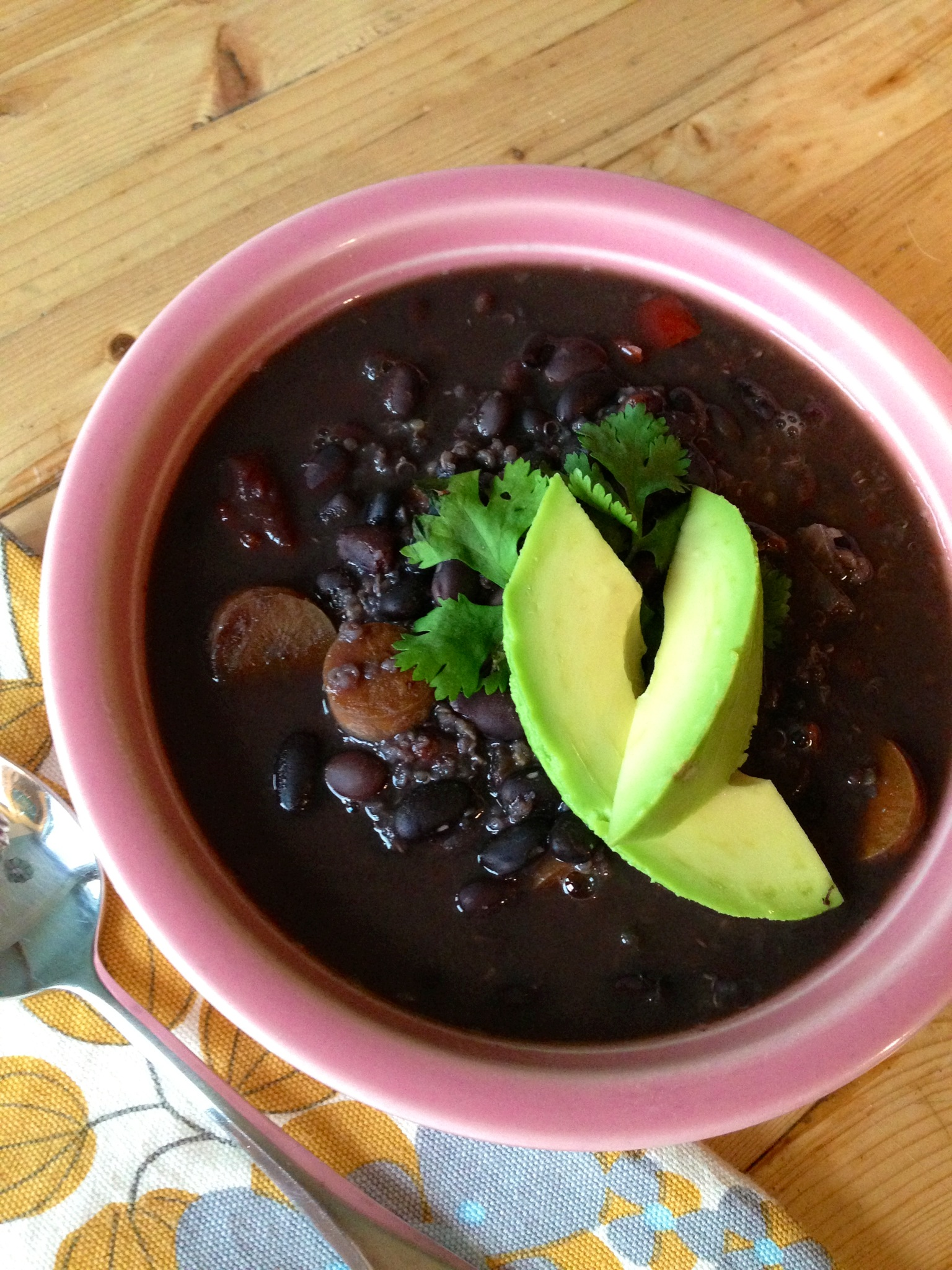 Crock Pot Black Bean Soup Recipe — Dishmaps