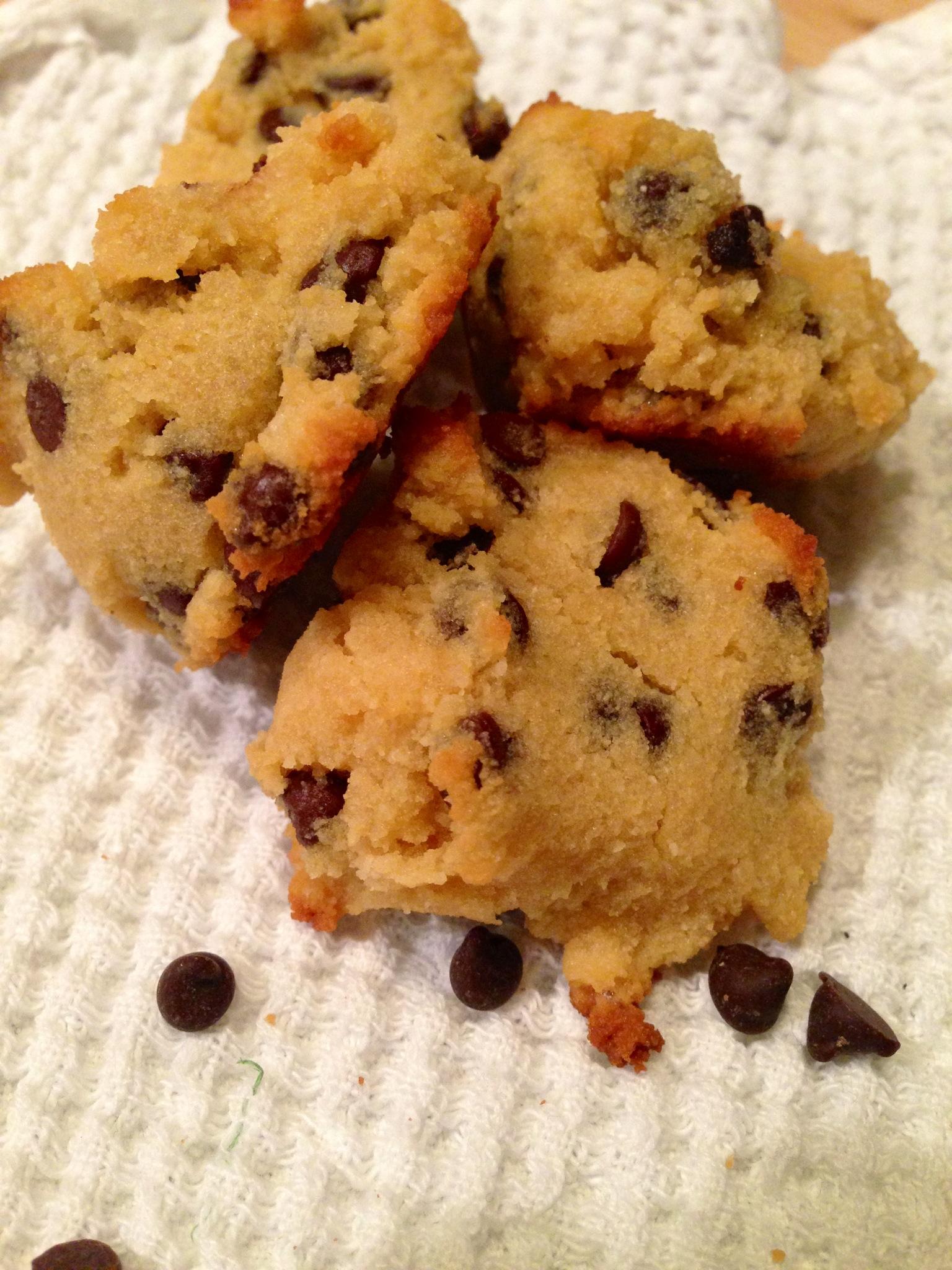 simple gluten free chocolate chip cookies - BeginWithin ...