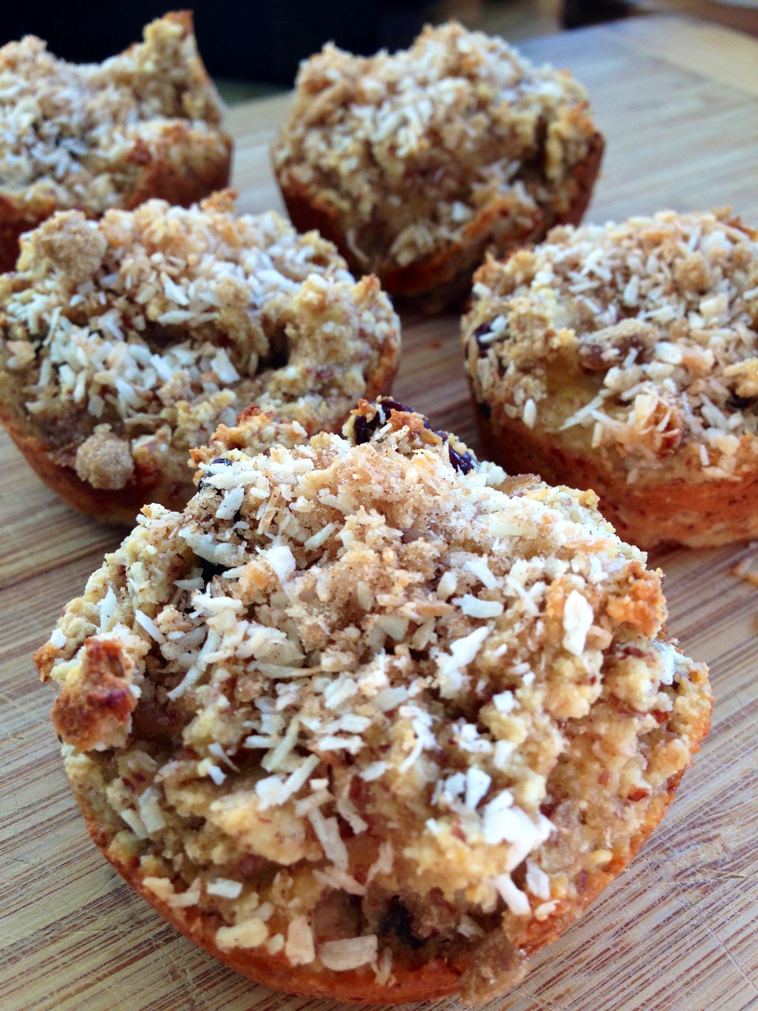 coconut banana muffins ~grain free/gluten free~ | BeginWithin ...