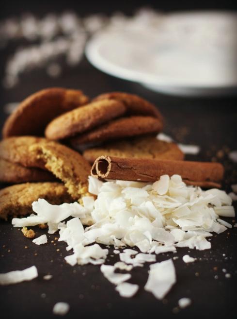 Ginger Peach Coconut Crisp ~ a quick and easy crowd pleasing dessert ~vegan, gluten free~