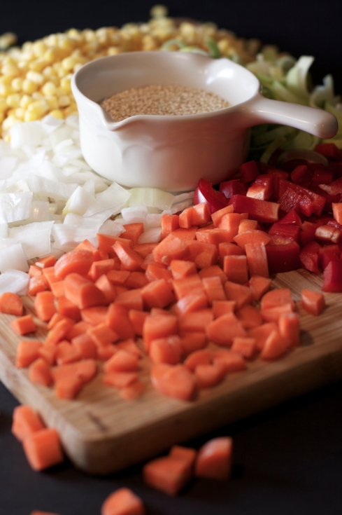 Quinoa and Corn Chowder ~vegan, dairy free, gluten free~